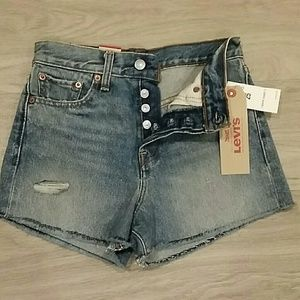 NWT Levi's high rise wedgie fit